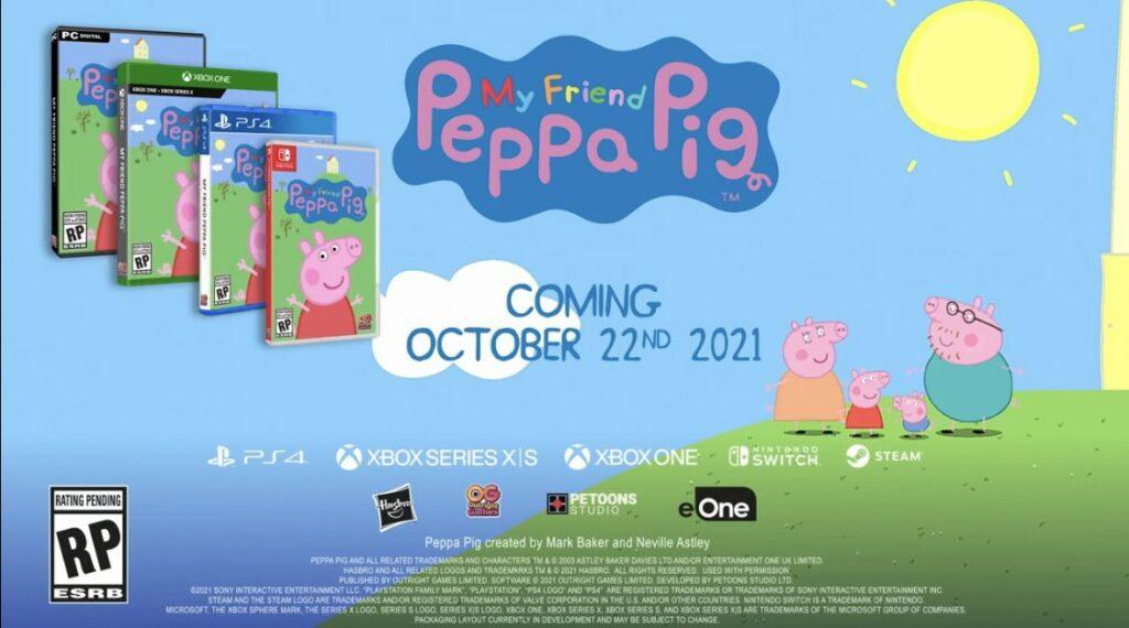 MY FRIEND PEPPA PIG выйдет 22 сентября на консолях и ПК