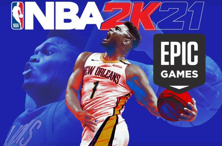 NBA 2K21 бесплатно в Epic Games Store