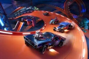 Трасса «Скейтпарк» в новом трейлере Hot Wheels Unleashed